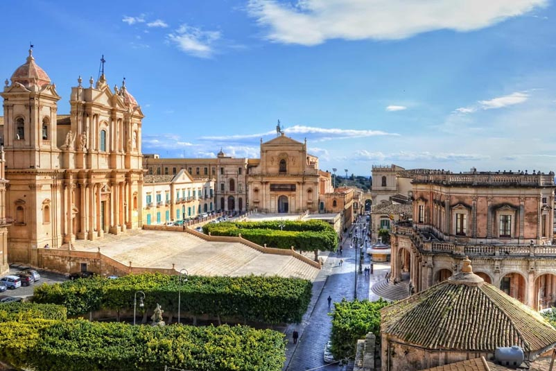 Noto, la capitale del Barocco Siciliano